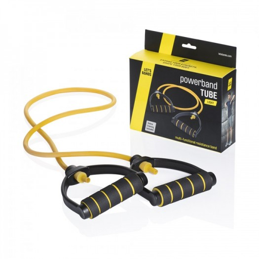 Powerbands Tube Leicht Yellow