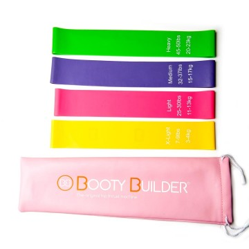 Booty Builder - MINI BAND - PINK 4 pack