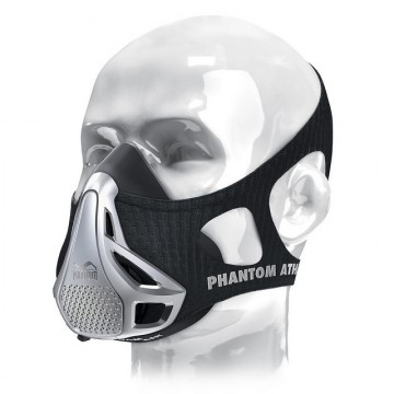 Phantom Training Mask Black/Silver