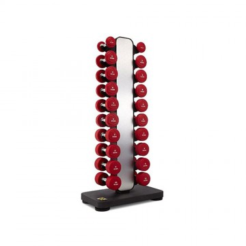 Ziva EX 1–10 kg Vertical Studio Dumbbell Rack