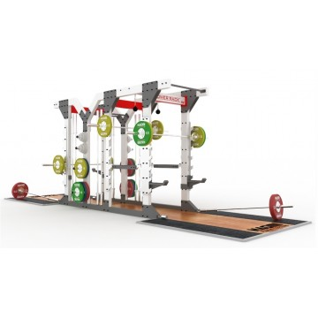 Naomi Dual Half and Power Rack