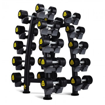 ST 10 Pair X Brace Dumbbell Rack